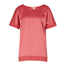 Buy Reiss River Contrast Cuff Top Online at johnlewis.com
