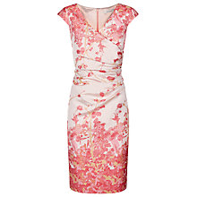 Buy Kaliko Jacquard Shift Dress, Multi Cream Online at johnlewis.com