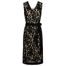 Buy Kaliko Lace Shift Dress, Multi Black Online at johnlewis.com