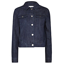 Buy Whistles Classic Denim Jacket, Denim Online at johnlewis.com
