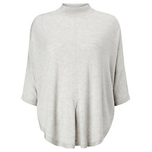 Buy Phase Eight Melany Poncho, Silver Marl Online at johnlewis.com
