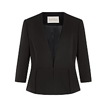 Buy Kaliko Peplum Jacket, Black Online at johnlewis.com