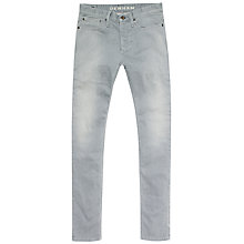 Buy Denham Bolt IGS Skinny Jeans, Grey Online at johnlewis.com