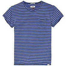 Buy Hilfiger Denim Alan Stripe T-Shirt, Federal Blue Online at johnlewis.com