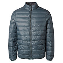 Buy Selected Homme Smith Light Down Jacket, Balsan Green Online at johnlewis.com