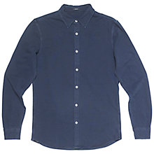 Buy Denham Ellis Jersey Shirt, Indigo Online at johnlewis.com