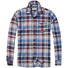 Buy Hilfiger Denim Leighton Shirt, Federal Blue Online at johnlewis.com
