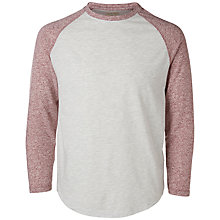 Buy Selected Homme Levi Long Sleeve Tee, Snow White Online at johnlewis.com