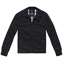 Buy Tommy Hilfiger New Ivy Cotton Jacket, Black Online at johnlewis.com