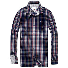 Buy Hilfiger Denim Lawson Shirt, Evening Blue Online at johnlewis.com