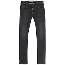 Buy Denham Bolt BBS Stretch Skinny Jeans, Black Online at johnlewis.com
