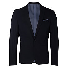 Buy Selected Homme Vincent Blazer, Navy Online at johnlewis.com