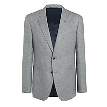 Buy Tommy Hilfiger Normar Patch Pocket Herringbone Blazer, Grey Online at johnlewis.com