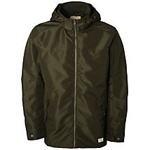 Buy Selected Homme Cooper Parka Jacket, Green Olive Online at johnlewis.com