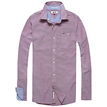 Buy Hilfiger Denim Georgetown Oxford Shirt, Solid Pink Online at johnlewis.com