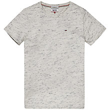 Buy Hilfiger Denim Anthony Cotton Jersey T-Shirt, Egret Online at johnlewis.com