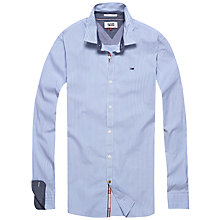 Buy Hilfiger Denim Lewis Stripe Shirt, Faded Indigo Online at johnlewis.com