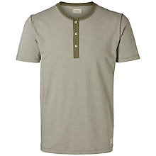 Buy Selected Homme Henley Tee Online at johnlewis.com