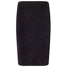 Buy Studio 8 Mona Textured Skirt, Black Online at johnlewis.com