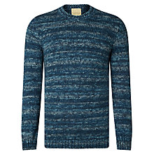 Buy JOHN LEWIS & Co. Made in Italy Space Dye Crew Neck Jumper Online at johnlewis.com