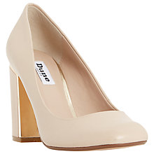 Buy Dune Avalin Block Heeled Court Shoes Online at johnlewis.com