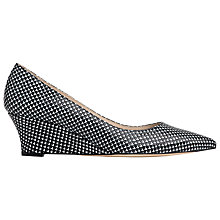 Buy L.K. Bennett Alexis Wedge Court Shoes Online at johnlewis.com