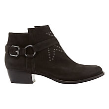 Buy Mint Velvet Polly Cross Strapped Ankle Boots Online at johnlewis.com