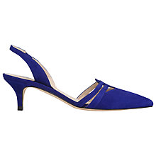 Buy L.K. Bennett Gabby Slingback Kitten Heel Sandals Online at johnlewis.com