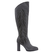 Buy Mint Velvet Beth High Heel Boots, Grey Suede Online at johnlewis.com
