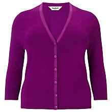 Buy Studio 8 Jeni V-Neck Cardigan, Orchid Online at johnlewis.com