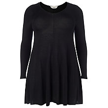 Buy Studio 8 Georgia Swing Knit Tunic, Black Online at johnlewis.com