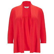 Buy Studio 8 Molly Plain Shawl Collar Cardigan, Tangerine Online at johnlewis.com