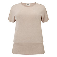 Buy Studio 8 Carrie Short Sleeve Jumper, Hazelwood Online at johnlewis.com