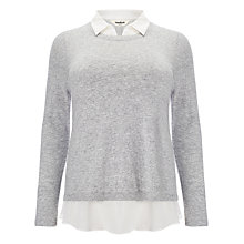 Buy Studio 8 Fern 2-in-1 Jumper, Slate Online at johnlewis.com