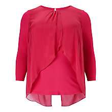 Buy Studio 8 Ella Layer Blouse, Lipstick Online at johnlewis.com