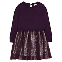 Buy Jigsaw Junior Girls' Sequin 2-In-1 Knit Dress Online at johnlewis.com