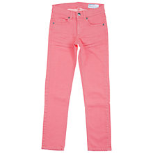 Buy Polarn O. Pyret Children's Coloured Jeans, Pink Online at johnlewis.com