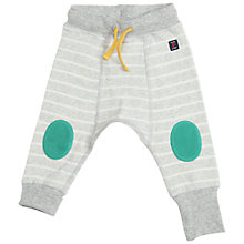 Buy Polarn O. Pyret Baby's Jersey Trousers, Grey Online at johnlewis.com