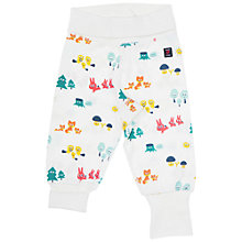 Buy Polarn O. Pyret Baby's Forest Joggers, White Online at johnlewis.com