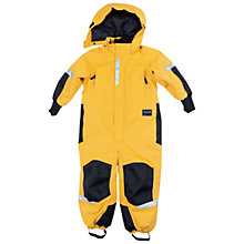 Buy Polarn O. Pyret Children's Winter Overall, Yellow Online at johnlewis.com