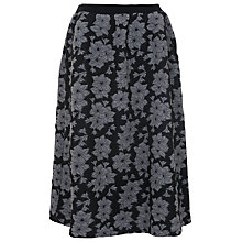 Buy French Connection Lily Jacquard Skirt, Grey Multi Online at johnlewis.com