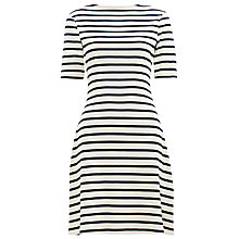 Buy Whistles Zip Back Stripe Dress, Multi Online at johnlewis.com