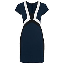 Buy French Connection Manhattan Fitted Dress Online at johnlewis.com