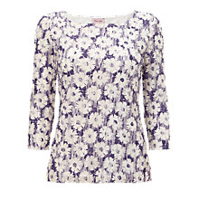 Buy Phase Eight Daisy Mesh Top, Lavender Online at johnlewis.com