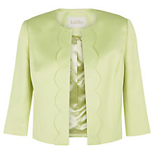 Buy Kaliko Scallop Edge Jacket, Light Green Online at johnlewis.com