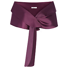 Buy Kaliko Satin Shawl, Dark Purple Online at johnlewis.com
