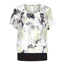 Buy Kaliko Printed Bubble Top, Multi Online at johnlewis.com