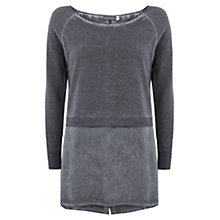Buy Mint Velvet Cashmere Mix Knit, Grey Online at johnlewis.com