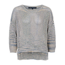 Buy French Connection Lurex Shimmer Jumper, Multi Grey Online at johnlewis.com
