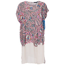 Buy French Connection Sundown Border Dress, Ziggy Pink Multi Online at johnlewis.com